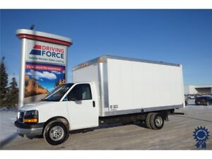 2016 GMC Savana Commercial Cutaway 16 Ft Cube Van, 6.0L V8
