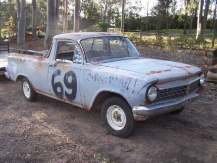 Holden EH Ute rolling shell rusty pretty good 1/4 panels Seaham Port Stephens Area Preview