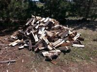 camp firewood for sale 2 cords worth