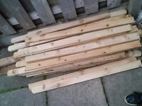 Fence timber