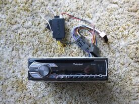 Pioneer Digital Car Radio and CD Player (DEH-4500BT)