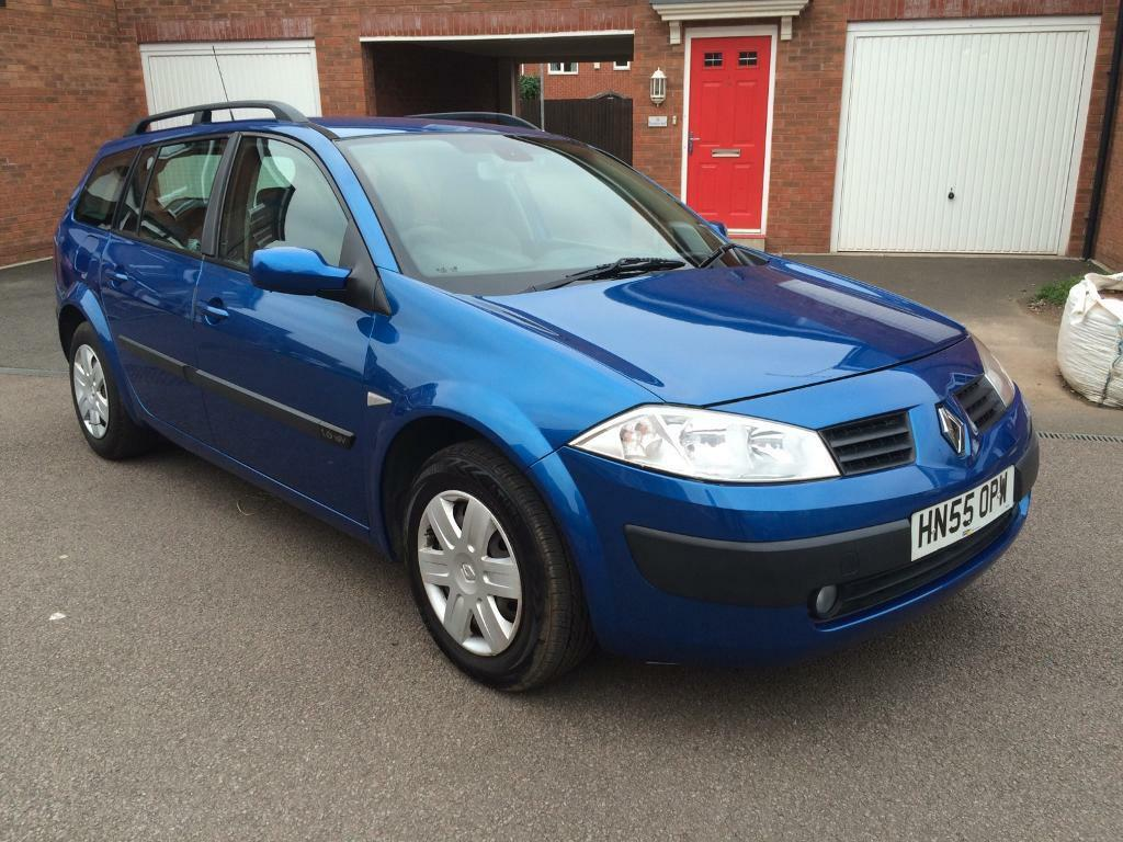 RENAULT MAGANE 1.6petrol 2005 ESTATE AUTOMATIC LONG MOT £995 offers