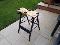 Work bench adjustable