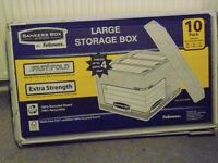 Fellowes Bankers Box System Large Storage Box - Pack of 10