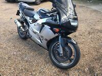 Kawasaki ZX600-F2 Ninja 599cc Petrol Motorcycle P Reg 10/08/1996 Black
