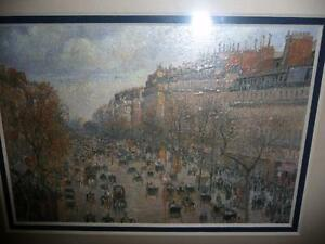"Camille Pissarro ""Boulevard Montmartre"" 1897 Art Print/Matted London Ontario image 8"