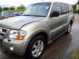mitsubishi shogun automatic parts from a 2005 lwb 3.2 automatic gold with full leather