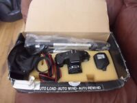 panamax xr-8000 pro kit 35mm camera with tripod and flash retro professional camera Japanese lens