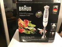 Brand New Boxed Braun Identity Electric Hand Mixer collection Multiquick 5 Vario mq5035