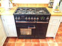 Rangemaster Professional + 90 range cooker PLUS brand new cooker hood