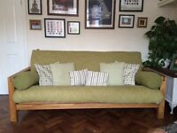 3 seater sofa/ double bed