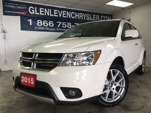 2016 Dodge Journey R/T, 4x4, Leather, Bluetooth, Carproof Clean