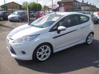 Ford FIESTA S 1600 Ltd Edition,3 dr hatchback,FSH,very rare car,leather sports interior,white alloys