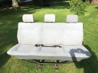 VW T4 Folding Rear Triple Seat