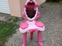 Child's toy dressing table