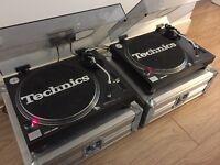 Wanted Technics 1210 MK2 1200 MK5 Turntables
