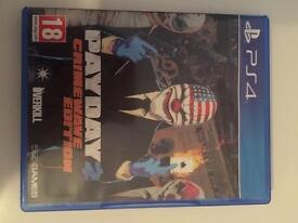 Pay Day 2 CrimeWave edition ps4