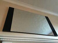 Next Mirror with Black panel detail