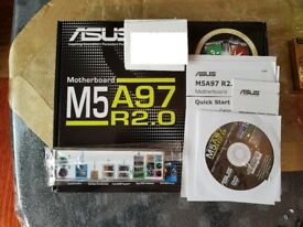 Asus M5A97 R2.0 AM3+ Motherboard - NEW