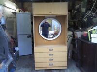 LARGE state room CHESTER DRAWER AND VINTAGE CHIC DRESSING TABLE - GREAT CONDITION