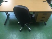 Desk and Chair Bundle 1