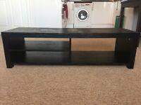 TV Stand / Console Unit / Shelf - Wood Black