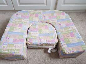 EZ 2 nurse twin feeding pillow
