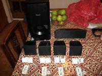 Pioneer S-BD310 Home Audio 5.1Ch Surround Sound Speakers & Subwoofer Set Black