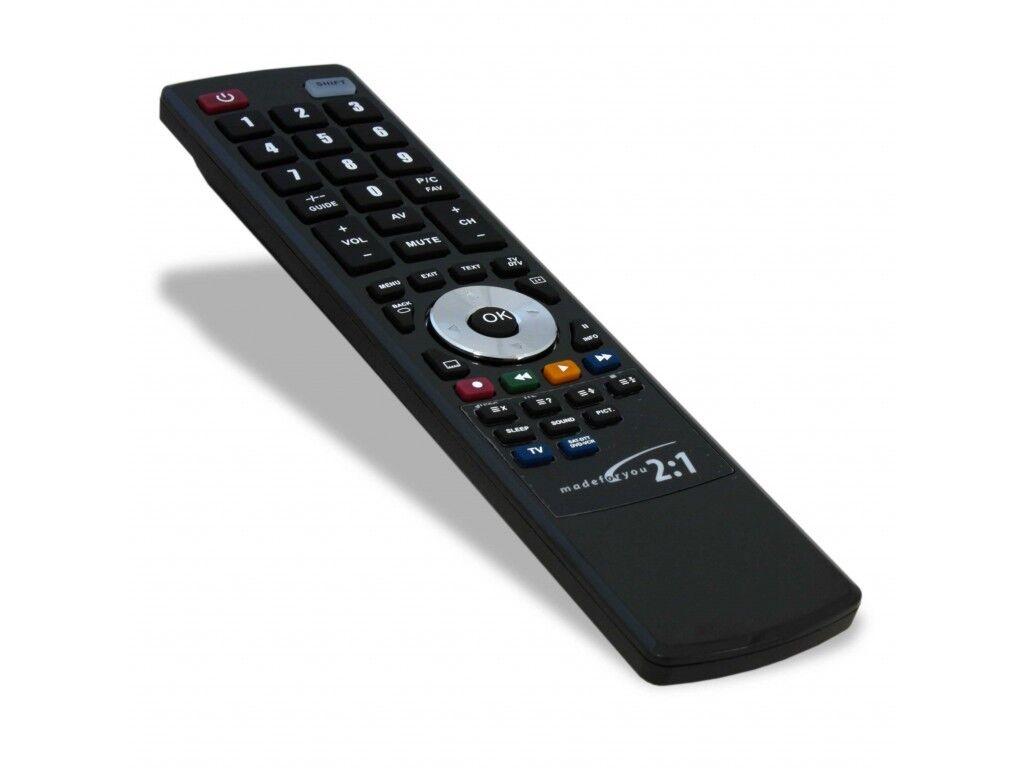 TELECOMANDO UNIVERSALE PROGRAMMABILE 2:1 PER TUTTE LE TV MODERNE,DECODER ETC..