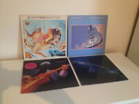 Dire Straits x4 Vinyl Bundle - Alchemy Live, Brothers In Arms, Money For Nothing, Love Over Gold