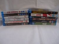 Bundle of mostly new and sealed Blu Rays