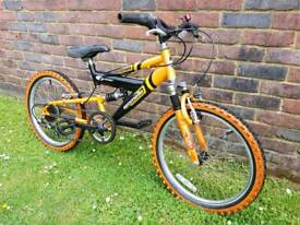 Child's emmelle mountain bike 20inch wheels