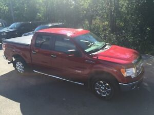 2014 Ford F-150 XLT XTR Factory Leather , Red Candy