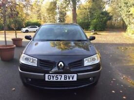 2007 RENAULT MEGANE MK II 1.6 AUTO STARTS AND DRIVES VERY WELL EASY AND CHEAP TO DRIVE