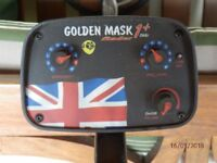 Golden Mask Metal detector