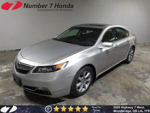 2013 Acura TL Leather, Sunroof, Bluetooth!