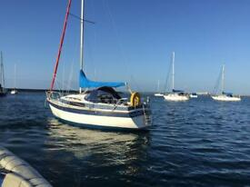 22ft Yacht with Minimal Hours 3yr old Mariner 9.9HP