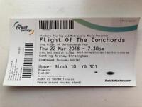 Flight of the Conchords ticket!