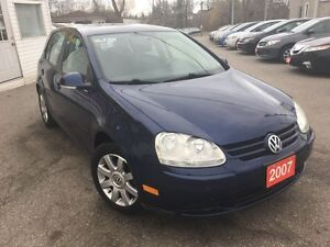 2007 Volkswagen Rabbit 5-Door/AUTOAIR/LOADED/ALLOYS/CLEAN CAR PR