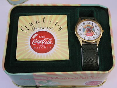 Vintage Coca-Cola Watch and TIn (L2)
