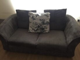 2 Seater sofa and Cuddler. Collection only