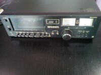 Vintage NATIONAL PANASONIC DECK 612 STEREO CASSETTE TAPE (Dolby system)