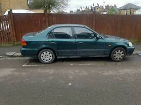 HONDA CIVIC 1.4 5 DR HATCH. EXCELLENT CONDITION. DRIVES AS NEW. TAX & GREAT MOT