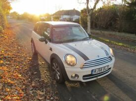 58 MINI COOPER CLUBMAN 1.6 D ESTATE 1/2 LEATHER, CLIMATE, ALLOYS, FULL SERVICES, 2KEYS...