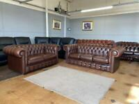 Brand new ex display Chesterfield sofas for sale
