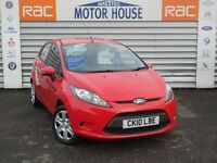 Ford Fiesta (EDGE) FREE MOT'S AS LONG AS YOU OWN THE CAR!!! (red) 2010