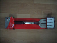 Weber Stainless Steel BBQ Tongs & Spatula