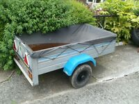 small metal trailer