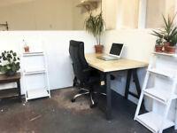 shared studio space near london fields £170 pcm inc