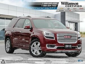 2015 GMC Acadia DENALI**NAV**SUNROOF**BCK UP CAM**AWD